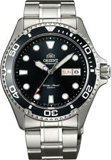 Orient FAA02004B Men's Stainless Steel Black Ray II 200M Automatic Diver Watch