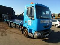 Renault Midlum Flat Bed Recovery Truck with Spec Lift