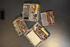 Dremel Sanding Accessories Bits Pieces Large Lot