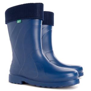 Wellies Rain Woman Boots Thermal -30C EVA Lightweight Garden Forest Voyager Boot