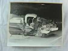 Vintage Photo 1970 Chevrolet Pickup Truck Wreck 801