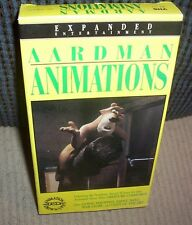 Aardman Animations (VHS, 1992) Includes Creature Comforts + Going Equipped etc.