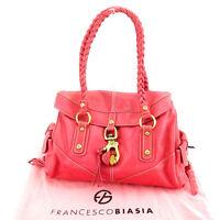 Francesco Biasia Shoulder bag Pink Woman Authentic Used Y5572