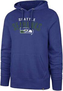 Seattle Sehawks Men's Outrush Pullover Hoody Sweatshirt - Blue