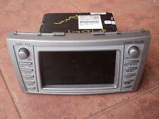 2005-2009 TOYOTA AURION CAMRY GENUINE DVD GPS VOICE NAVIGATION ASSY Bluetooth