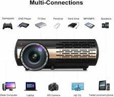 Native 1080P Android 6.0 WiFi LED Projector Bluetooth Multimedia Quad Core CPU