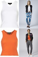 Topshop Fitted Cropped Tops & Shirts for Women