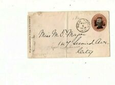 us stamp cover FANCY IRON CROSS FANCY CANCEL  BOB  new york (mell1