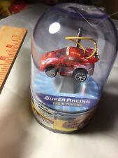 Micro Mini Super Racing Full Function RC Remote Control #777 RED CAR UNOPENED