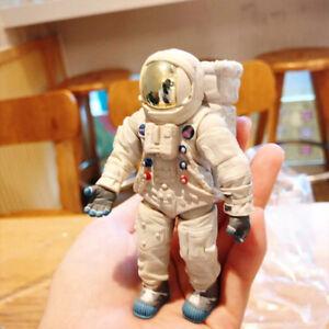 10cm Spaceman Space Suit Astronaut Action Figure Moon Landing Robot Models Toy