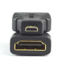 New HDMI Female to Micro HDMI Male F/M Converter Adapter Connector HD TV Camera