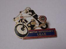 Pin's Police / Section Motocycliste de Lille (EGF - hauteur: 3,5 cm)