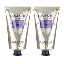 2X L'Occitane Lavender Hand Cream 75ml x2= 150ml Body Hand Nail Care NEW #8178_2
