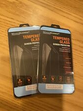 New~Apple iPhone Tempered Glass Screen Protector~Two 3 Packs~ 6/7/8 Plus