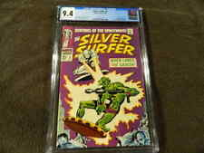 1968 MARVEL Comics SILVER SURFER #2 Key 1st Ap. BROTHERHOOD Of BADOON - CGC 9.4