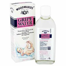 Woodwards Alcohol Sugar Free Gripe Water for Wind Colic Relief 150ml - Multibuy