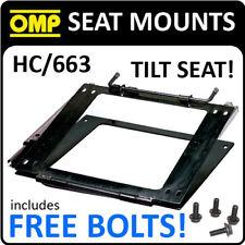 HC/663 Asiento Reclinable OMP de montaje para la Raza/Rally/Cubo Asientos Con Pernos Gratis!