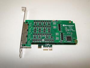 Sangoma A108DE (8 Port T1E1J1 PCIe With Echo Cancellation) 1 Year Warranty