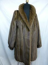 DEMI BUFF BROWN MINK FUR STROLLER  ~~~~ JACKET ~   #49774 ~~~~~~