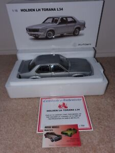 1:18 Biante Holden LH L34 SL/R 5000 Torana in Sable Silver Very Limited Edition