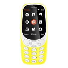 Nokia 3310 Retro dual SIM gelb