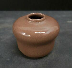Vintage California Faience Acorn Vase