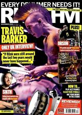 RHYTHM DRUMMER MAGAZINE +CD 2006 NOV TRAVIS BARKER, CHRIS CANO, IAN PAICE, DAN F