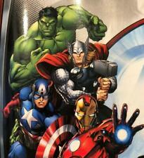 New Official Boys Marvel Avengers Blanket Large Size Soft Feel 100x150cms