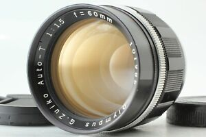 """Near Mint "" Olympus G Zuiko Auto T 60mm F/1.5 Lens for Pen F FT FV From JAPAN"