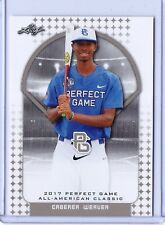 """CABEREA WEAVER 2017 """"1ST EVER PRINTED"""" PERFECT GAME AAC ROOKIE CARD!"""