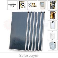 Solarbayer Solarzellen Solarplatten 12,12m² Solaranlage für Warmwasser, Heizung