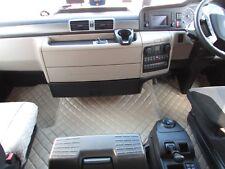 TRUCK Floor Mats RHD For MAN TGX 2006 - 2018 EURO 5 6 AUTOMAT BEIGE Eco Leather
