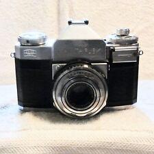 Zeiss Ikon Contaflex, 45mm 2.8 Tessar, Stuttgart, good cosmetics, timing off