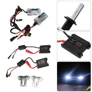 H7 55W Xenon HID Conversion Kit Canbus Headlight Lamps Light Bulbs 6000K 8000K