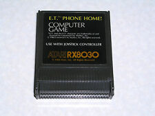 E.T. Phone Home cartridge -1983 label- Atari 400/800/XL/XE - WORKS & GUARANTEED!