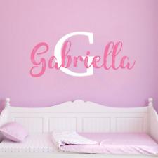 Custom Name & Font Wall Decal For Boys Girls Nursery Room