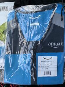 Blue Amazon DSP Delivery Driver Flex Vest Reflective Small Brand New