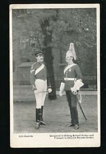 Military LIFE GUARDS Corporal and Trooper 1907 PPC