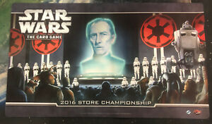 Star Wars The Card Game # 2016 Store Championship PlayMat - More In Store - JS