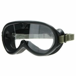 Mil-Tec US Tactical Staubschutzbrille M44 Schutzbrille Kradbrille mit 2 Gläsern