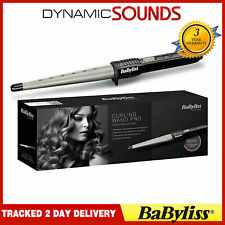 BaByliss 2285CU Curling Ceramic Wand Pro Tong Hair Styler for Women