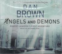 Dan Brown Angels And Demons 6CD Audio Book Abridged Robert Langdon Book 1 NEW*