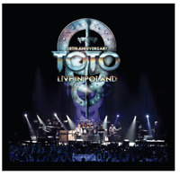Toto - 35th Anniversary Tour - Live in Lodz Poland 2013 Limited 3 LP + 2 CD 3000