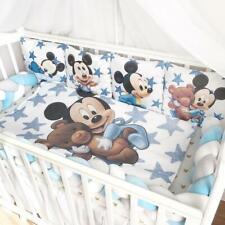 Disney Mickey Mouse Crib Bedding Boy Nursery Cover Blanket Braid bumper
