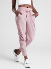 ATHLETA Attitude Pant 6 (S SMALL) Sugarplum Mauve Pink | Travel Joggers NEW NWOT