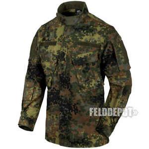 Bundeswehr Flecktarn Helikon-Tex Wolfhound Lightweight Insulate Jacke Nylon