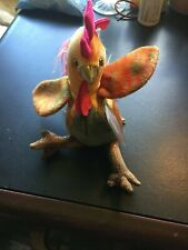 2000 Ty Beanie Baby Zodiac Series Rooster With Tags