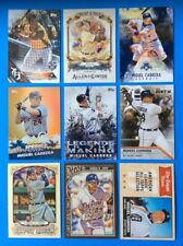 Lot of 9 Diff . 2018 & older TOPPS . MIGUEL CABRERA  . SUPER STAR  . TIGERS .  C