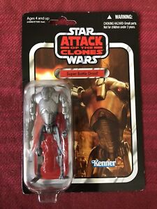 Star Wars Super Battle Droid The Vintage Collection NEW attack of the clones TVC