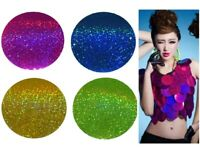 "80mm (3 5/32"") Large Round Loose Laser Sequins 8 COLOURS - Sewing, Craft - 1347"